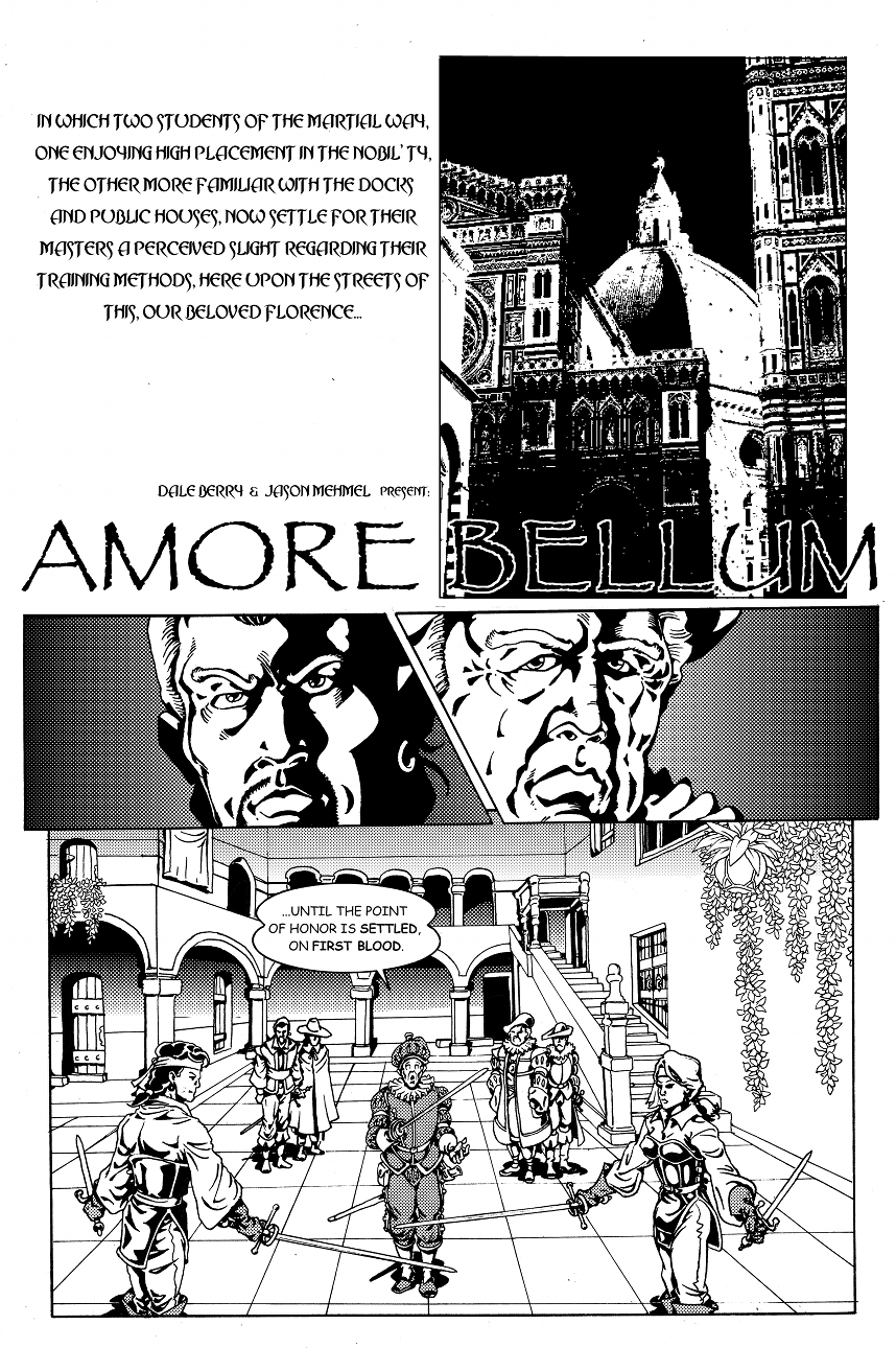 Amore Bellum Page 1
